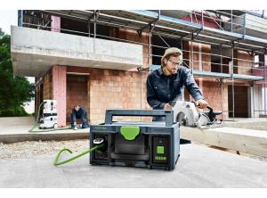 Prąd na budowie, czyli magazyn energii Festool SYS-Power Station SYS-PST 1500 Li HP