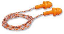 Zatyczki Uvex WHISPER wielokrotnego użytku ze sznureczkiem w woreczku 23dB