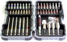 43-częściowy zestaw końcówek wkręcających i kluczy nasadowych BOSCH