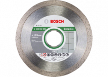 Diamentowa tarcza tnąca Standard  for Ceramic 115x22.23 Bosch