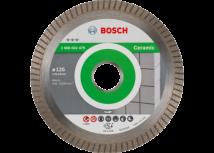 Diamentowa tarcza tnąca Best for Ceramic Extraclean Turbo 125x22.23 Bosch
