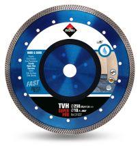 Tarcza diamentowa do materiałów twardych, obrzeże TURBO VIPER TVH 250 SUPERPRO RUBI