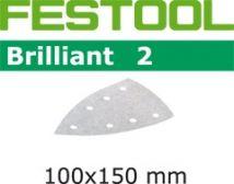 Papiery ścierne Festool STF DELTA/7 P100 BR2/100