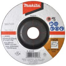 Tarcza szlifierska INOX do metalu 125x6mm Makita