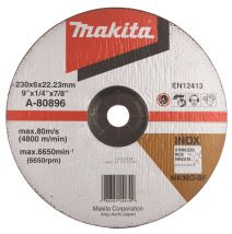 Tarcza szlifierska INOX 230x6x22mm Makita