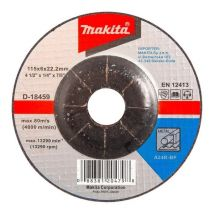 Tarcza szlifierska do metalu 115x6mm A24R Makita D-18459