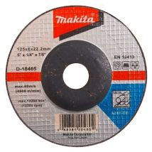 Tarcza szlifierska do metalu 125x6mm A24R Makita