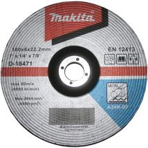 Tarcza szlifierska do metalu 180x6mm A24R Makita