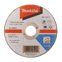Tarcza tnąca do metalu 115x3mm A30S (wypukła) Makita