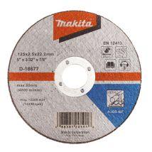 Tarcza tnąca do metalu 125x2.5mm a30s (płaska) Makita D-18677