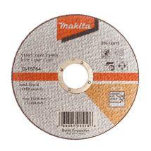 Tarcza tnąca inox 115x1.2mm wa60t (płaska) Makita D-18764