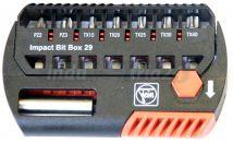 Zestaw bitów do wkrętarki udarowej akumulatorowej Fein Impact Bit-Box 29