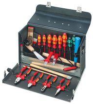 Walizka narzędziowa z wyposażeniem dla elektryka Knipex 420x250x160 mm 002101TL