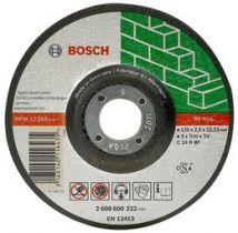 Tarcza tnąca Bosch W 125 x 22 x 3 K mm