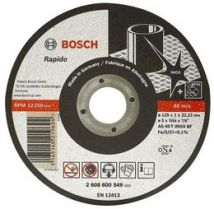 Tarcza tnąca Bosch 125 x 22 x 2 I mm