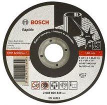 Tarcza tnąca Bosch 125 x 22,2 x 1 mm Rapido Longlife Bosch 2608602221