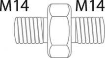 Przedłużka PL 400 M14/M14 Festool