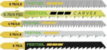 Zestaw brzeszczotów STS-Sort/25 W Festool