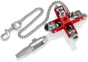 Klucz uniwersalny do wszystkich standardowych tablic rozdzielczych i systemów odcinających 90 mm Knipex