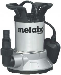 TPF6600SN Pompa zanurzeniowa do wody czystej Metabo TPF 6600 SN, płytko zasysająca