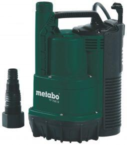 TP7500SI Pompa zanurzeniowa Metabo TP 7500 SI, płytko zasysająca