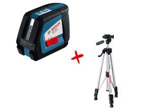 Laser liniowy GLL 2-50 Professional ze statywem BS 150 Bosch