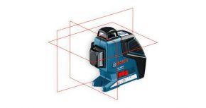 Laser liniowy  GLL 3-80 P Professional + BS150 Bosch 0601063306