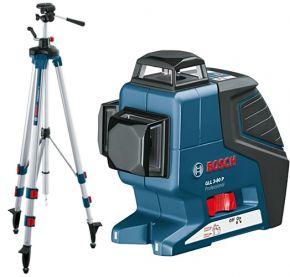 GLL3-80 Laser płaszczyznowy + statyw BT 250. box+. Bosch