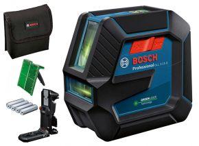 GLL2-15G  Laser krzyżowy 0601063W02 Bosch (walizka) + zacisk sufitowy