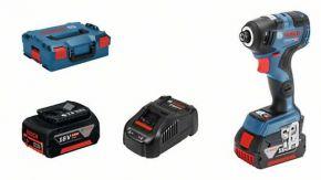 Akumulatorowy klucz udarowy GDR 18V-200 C z 2 akumulatorami Li-ion 5,0 Ah Professional Bosch