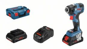 Akumulatorowy klucz udarowy GDR 18V-200 C z 2 akumulatorami Li-ion ProCORE18V 4,0 Ah Professional Bosch