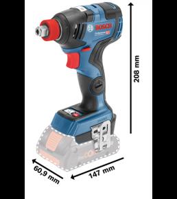 Akumulatorowy klucz udarowy GDX 18V-200 C Professional Bosch