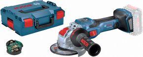 GWX 18V-15 SC Akumulatorowa szlifierka kątowa BITURBO z systemem X-LOCK Bosch Professional