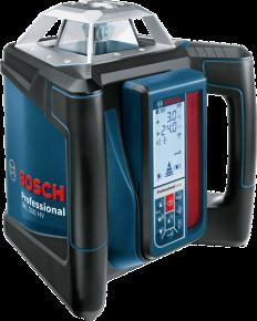 Laser obrotowy Bosch GRL 500 HV + LR 50 Professional 06159940EF