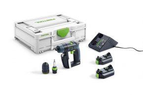 Akumulatorowa wiertarko-wkrętarka CXS 2,6-Plus Festool
