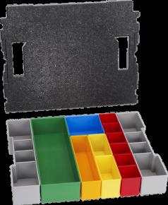 Segmenty do przechowywania drobnych elementów L-BOXX 102, zestaw pojemników Inset Box, 13 szt. Professional Bosch