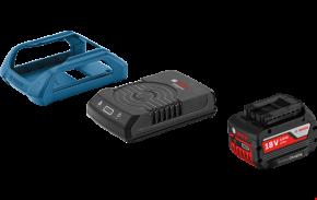Zestaw 1x Akumulator GBA18V 4.0Ah MW-C  + ładowarka Wireless GAL1830W