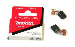 Makita CB419 szczotki węglowe 191962-4 ORYGINAŁ