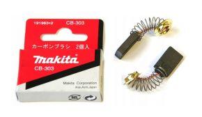 Makita CB303 szczotki węglowe 191963-2 ORYGINAŁ