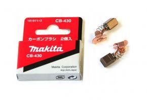 Makita CB430 szczotki węglowe 191971-3 ORYGINAŁ