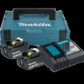Zestaw zasilający 18V MAKPAC (BL1830Bx2+DC18RC) 197952-5 Makita