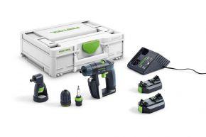 Akumulatorowa wiertarko-wkrętarka CXS 2,6-Set Festool