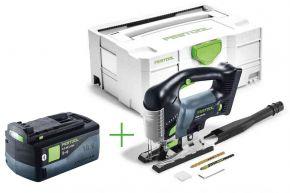 Wyrzynarka akumulatorowa CARVEX PSBC 420 Li EB-Basic + Akumulator BP 18 Li 5,2 ASI (201379+202479) Festool