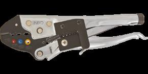 Szczypce do zaciskania końcówek konektorowych izolowanych Neo