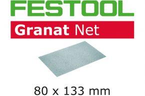 Materiały ścierne z włókniny STF 80x133 P80 GR NET/50 Festool