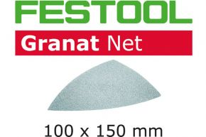 Materiały ścierne z włókniny STF DELTA P220 GR NET/50 Festool