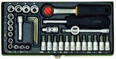 Zestaw mechaniki precyzyjnej 36 elementowy Proxxon 23080