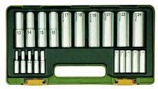 Specjalny zestaw kluczy nasadek głębokich 20 elementowy Proxxon 23292