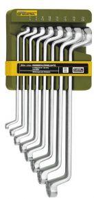 Komplet kluczy oczkowo-giętych - 8 części Slim-Line Proxxon 23810