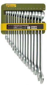 Komplet kluczy płasko-oczkowych Slim-Line - 15-części Proxxon 23821